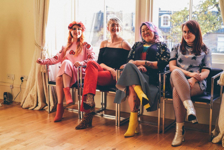 Edinburgh bloggers colourful ethical recycled fashion