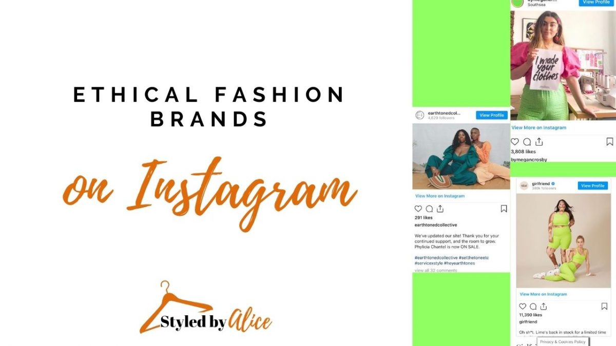 ethical fashion brands Instagram By Megan Crosby Earth Toned Collective Girlfriend