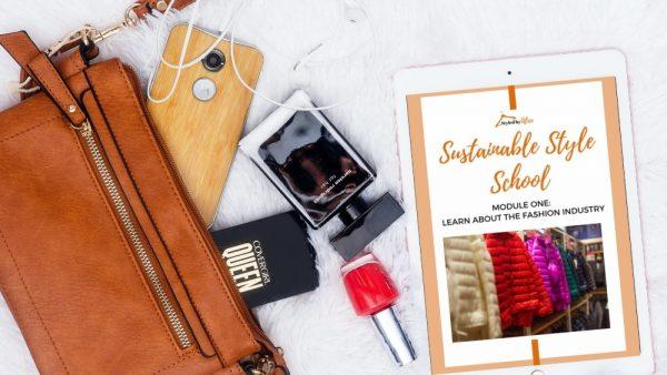 Sustainable Style School four week challenge from Alice Cruickshank