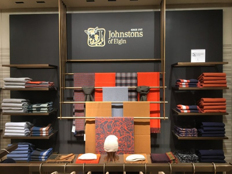 Johnstons of Elgin Berlin visual merchandising